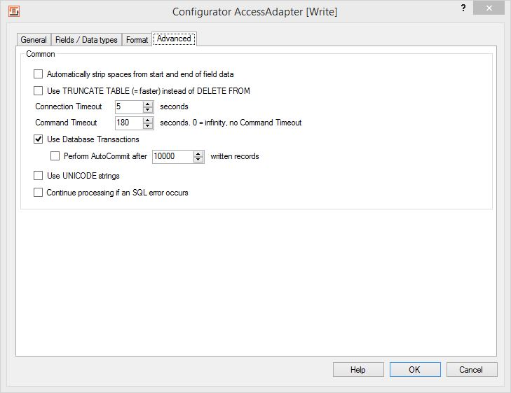 Import, Export and Update MS Access Databases