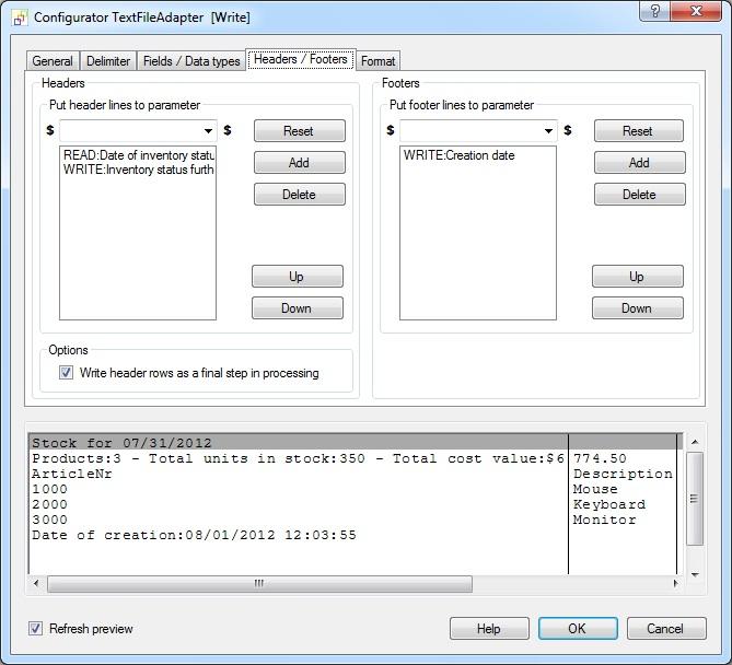Import / Export text files (CSV, TXT, Flat Files,    )