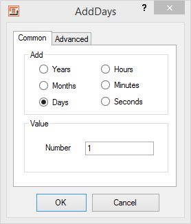 Calculations on date and time fields