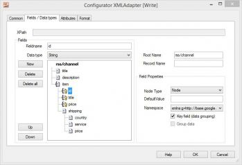 XML Adapter - Export with grouping
