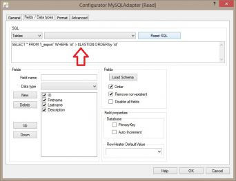 Modify MySQL export select