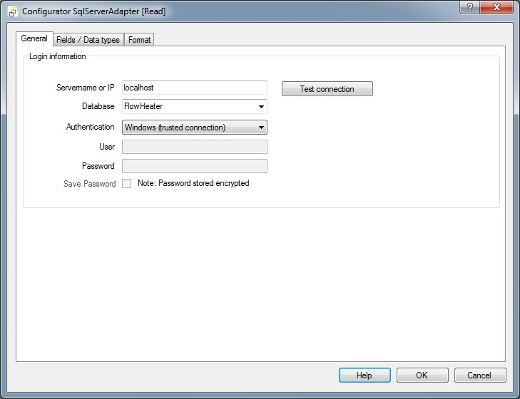 Exporting a flat file (report) from MS SQL Server